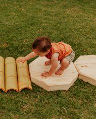 outdoor Wooden sensory balance set